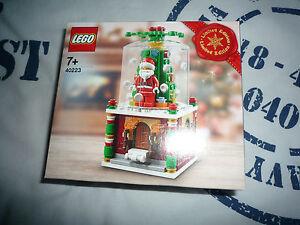 Lego 40223 xmas snowglobe boule de noel NEUF NEW jamais ouvert