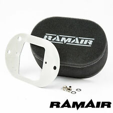 RAMAIR Carb Air Filters With Baseplate Weber 32/34 DFT 25mm Bolt On
