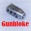 Muzzle-brake-M11-PLR-1-2x28-STAINLESS-Ruger-Howa-Savage-Remington-Mossberg thumbnail 4