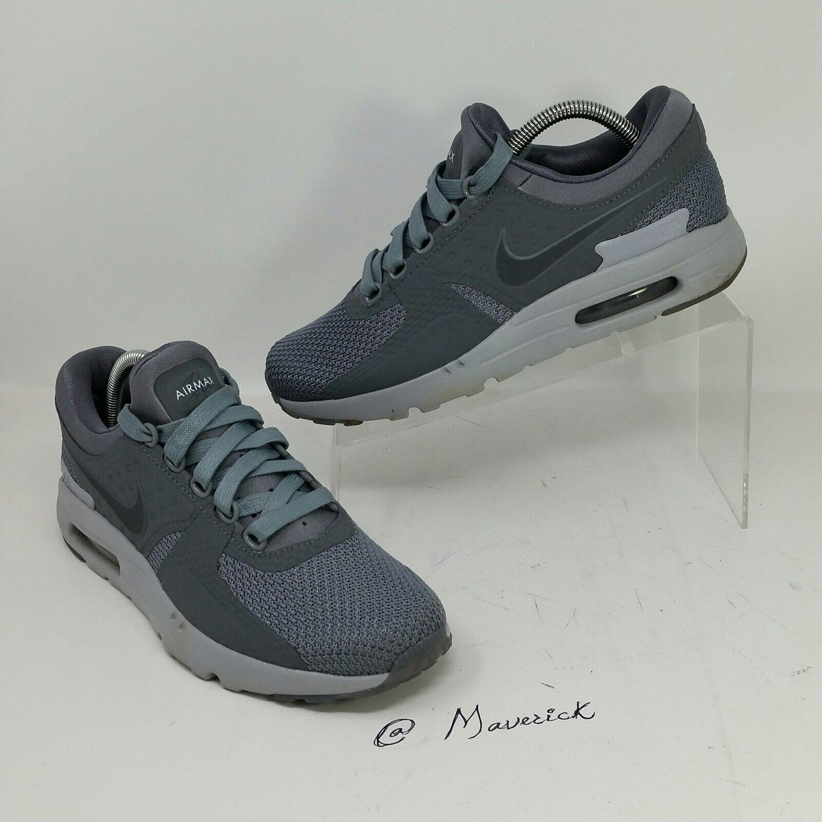 Nike air max max air zero cool grey grigio scuro grigio uomo lupo (le dimensioni (9) 6cb001