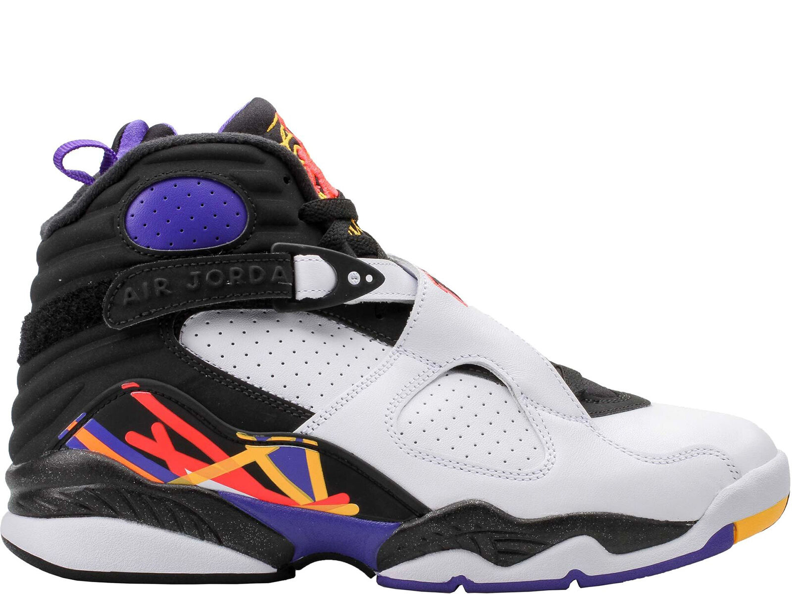 Men Brand New Air Jordan 8 Retro  3 Peat  Athletic Fashion Sneakers