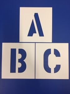 BIG-ALPHABET-STENCIL-LETTERS-OR-NUMBERS-150mm-HIGH-6-inch-separate-stencils
