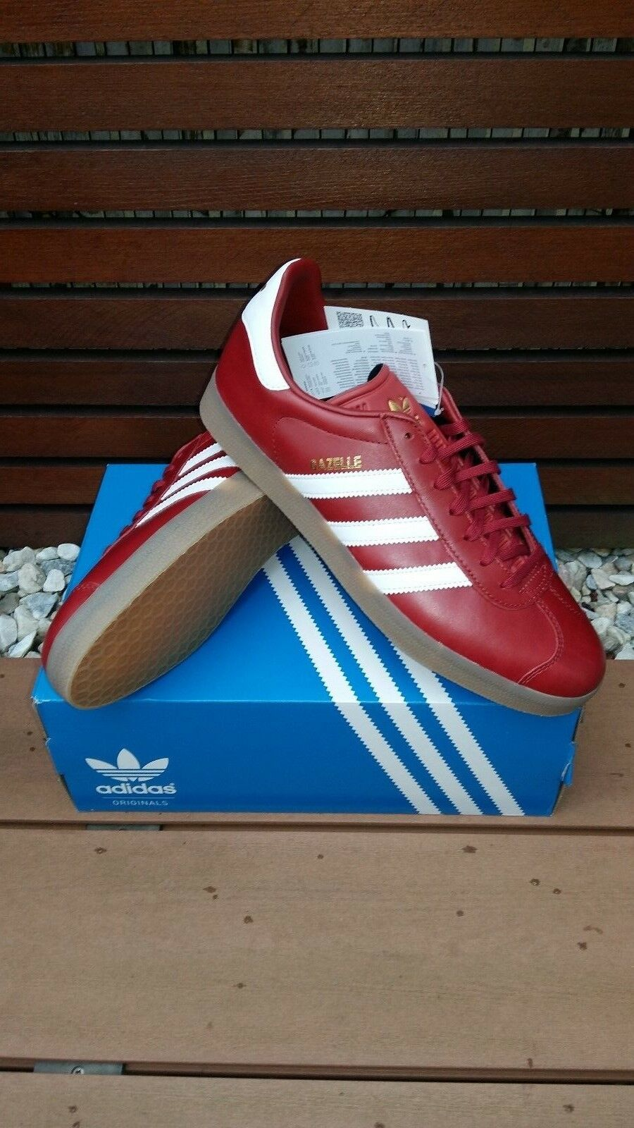 Originals 44 Adidas Gazelle Classics.. 100% Genuino Zapatillas Reino Unido 44 Originals 2/3 euros fbf89b