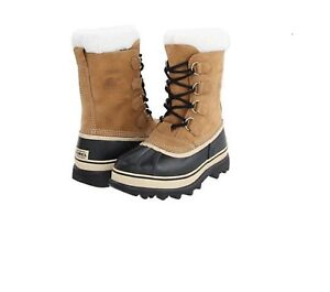 New-Men-039-s-Sorel-Caribou-Buff-Cold-Weather-Winter-Boots-SZ-8-12-NIB