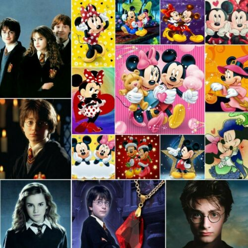 5D Diamond Painting Full Drill Cartoon DIY Embroidery Crafts Harry Potter Gift