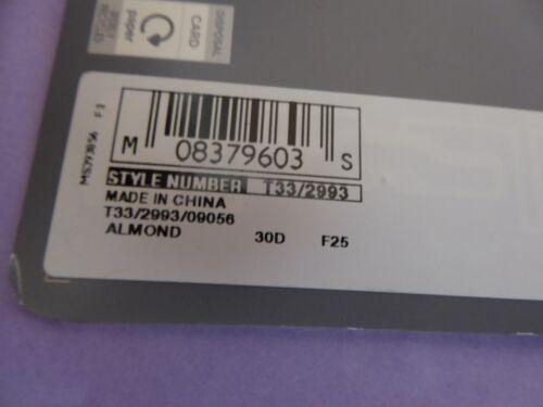 Marks /& Spencer 30B C D DD E 32D new almond strapless//multiway balcony bra