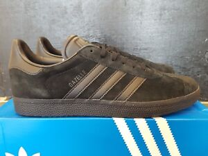 c7f754a873c NEW IN THE BOX ADIDAS GAZELLE CQ2809 BLACK BLACK SUEDE SNEAKER FOR ...