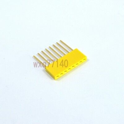 20pcs 4 Pin 2.54MM Female Stackable Header Connector Socket For Arduino Shie UR