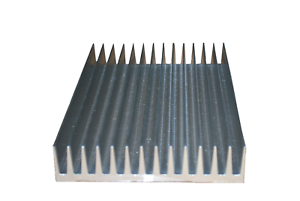 5.886 Wide Extruded Aluminum Heatksink (SOLD BY THE INCH) MADE IN THE USA