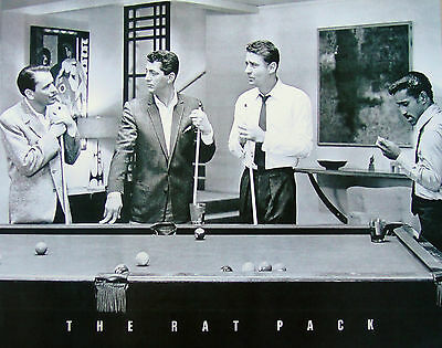 "THE RAT PACK MINI POSTER ""LICENSED"" BRAND NEW ""FRANK SINATRA, MARTIN, DAVIES"""