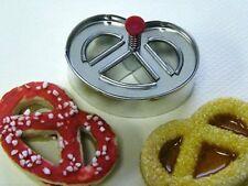 Pretzel a forma di biscotto/biscotto Stantuffo Taglierina per piatti da forno in silicone
