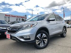 2016 Honda CR-V Touring - Navigation - Leather - Sunroof