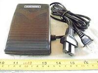 White Viking 300,3400,901,huskylock Foot Control Pedal Sewing Machine Serger