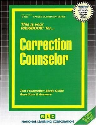 Correction Counselor by National Learning Corporation-ExLibrary