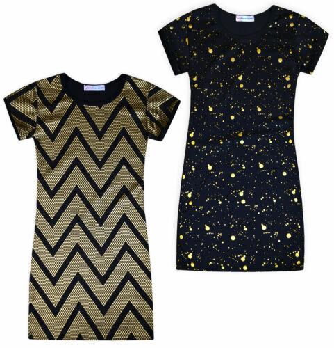 Girls Midi Dress Kids Christmas Party Dresses Age 5 6 7 8 9 10 11 12 13 Years