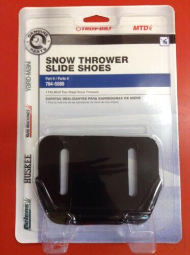 2 MTD 2 Stage Yardman Cub Cadet Snow Blower Thrower Slide Shoe Skid OEM 784-5580