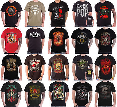 Official Five Finger Death Punch FFDP Lady Muerta Band T-Shirt
