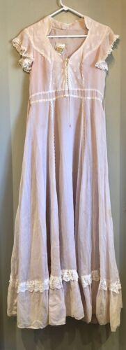 1970's Vintage Gunne Sax Dress RARE!