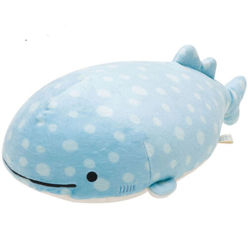 "17"" Sanx Whale Shark Plush soft Doll JinbeiSan Toys ow Birthday gift New"