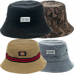 Dickies Bucket Hats Reversible Fashion Cotton Fishing Hat S M L XL ... ec7a9207f30