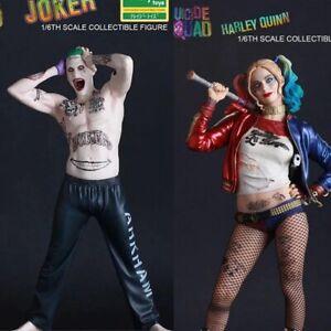 1-6-DC-Suicide-Squad-Harley-Quinn-JOKER-ACTIONFIGUR-PVC-Spielzeug-Sammlerstueck