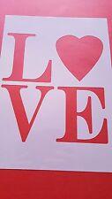 Galerías de símbolos 68 Love murales vintage-Look estampadas Shabby marcos de cuña