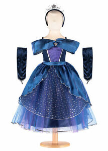 Years Age Princess 6 8 Fancy Costume Dress 'starcatcher' Up Blue Silver Navy qwHB6Pn