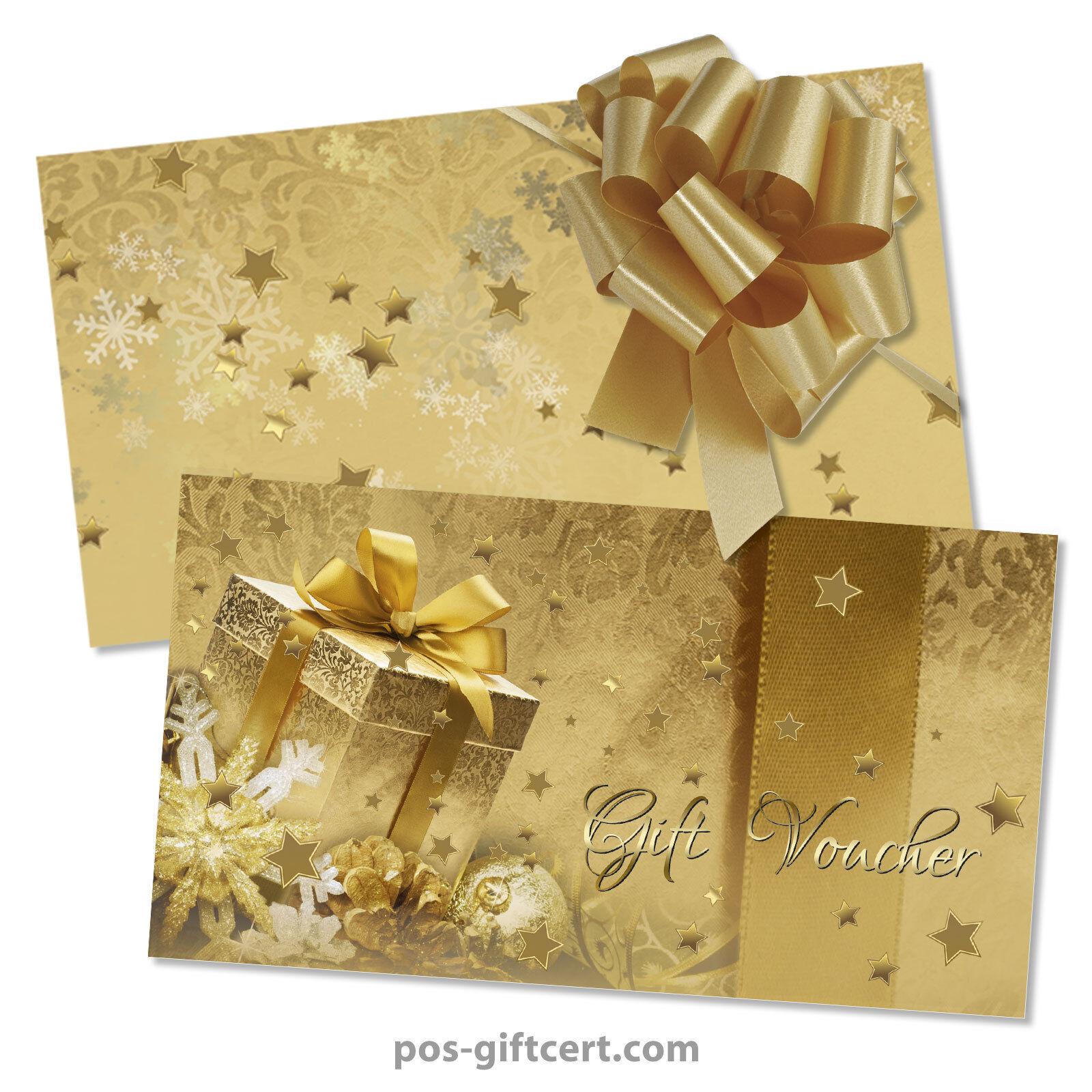 Gift vouchers  envelopes  pull bows for christmas X1297GB | Zürich Online Shop  | Hohe Qualität und günstig