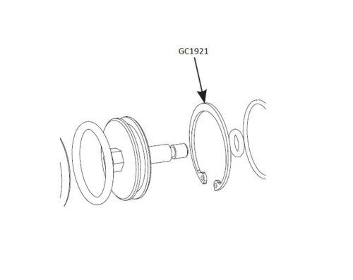 Retaining Ring Graco GlasCraft Probler P2 GC1921