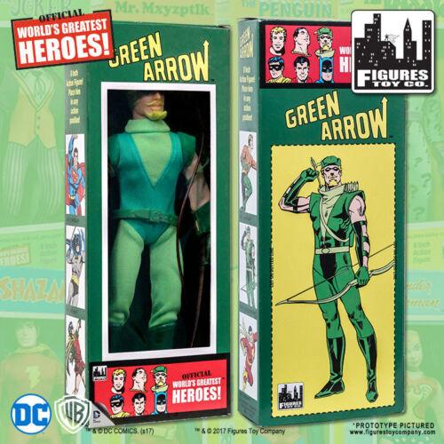 DC Comics Green Arrow 8 inch Action Figure in Retro Box