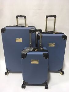 961cad962 NEW VINCE CAMUTO ELIZAH 3PC LUGGAGE SET SPINNER WHEELS EXPANDABLE ...