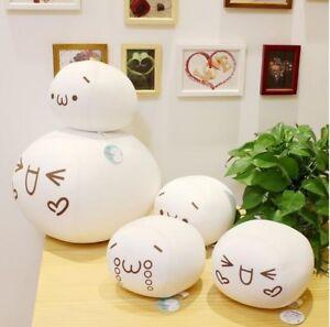 Kawaii Emoji Emoticon Kaomoji Dango Stuffed Cushion Plush Doll Toy Xmas Gift
