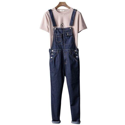 Herren Damen Denim Hose Latzhosen Latzhose Arbeitskleidung Jeans Cargo Hose