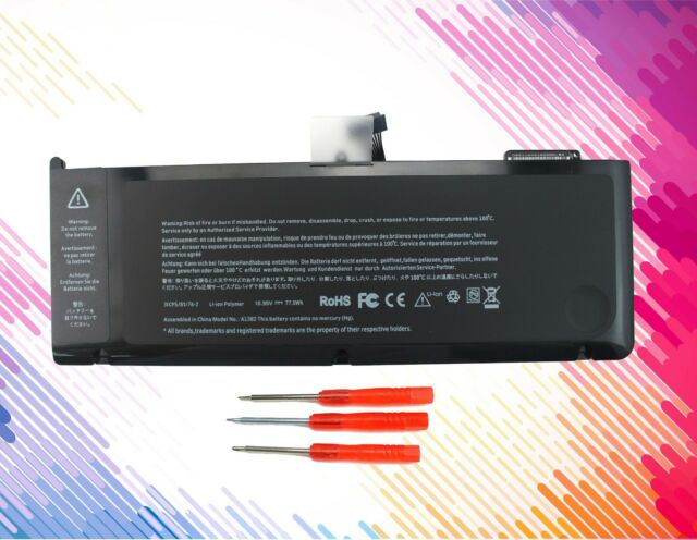New A1382 Battery for MacBook Pro 15 inch (only for Early/Late 2011, Mid 2012)
