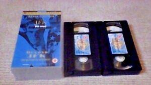 JFK Widescreen LTD UK PAL VHS VIDEO 2-TAPE SET 1993 Kevin Costner Oliver Stone