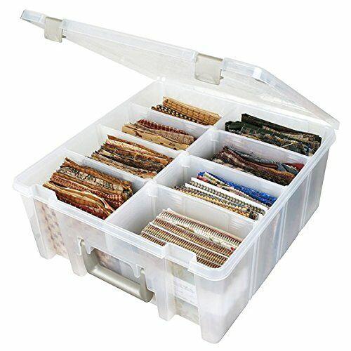 Unbekannt Aufbewahrungsbox 6990Ab von Art Bin extra Tiefe Kiste mit Zwei Rei...