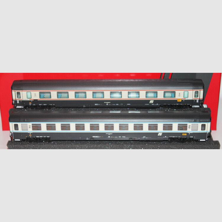 Set 2 carrozze FS Intercity BENEDETTO CROCE - Art. Acme 55215