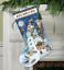 Dimensiones-Oro-contado-Cross-Stitch-Kit-Navidad-Stocking-Santa-Muneco-de-nieve miniatura 3