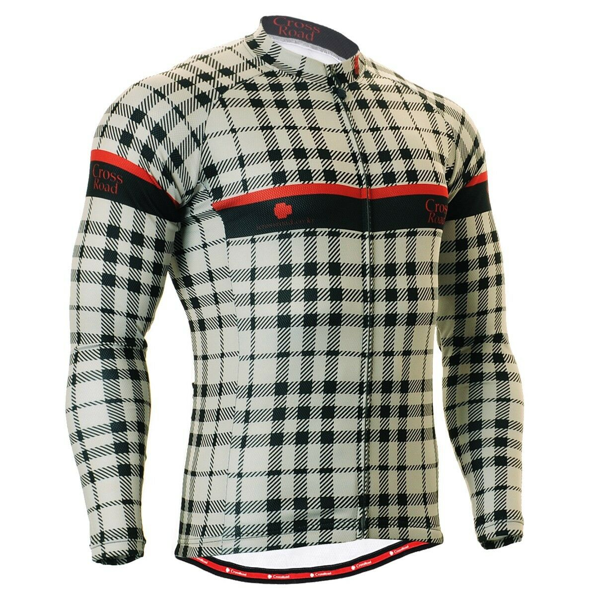 FIXGEAR CS-101 Men's Long Sleeve Cycling Jersey Bicycle Apparel Roadbike MTB