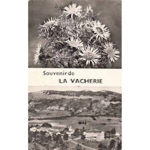 LA-VACHERIE-souvenir-double-vue-timbree-1962