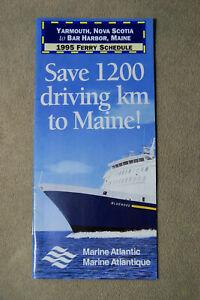 Marine-Atlantic-1995-Ferry-Schedule-Yarmouth-to-Bar-Harbor