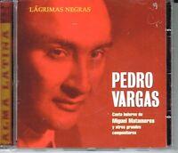 Pedro Vargas Lagrimas Negras Brand Sealed Cd