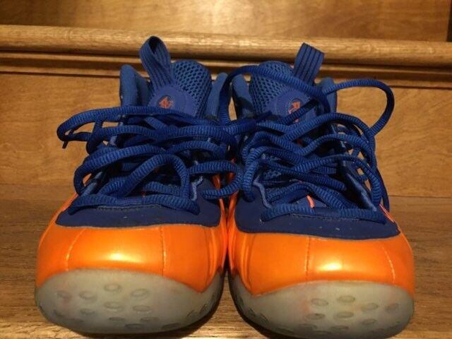 Foamposite talla One Hombre Shoes naranja y azul talla Foamposite 11 confortables y guapo 49cbcb