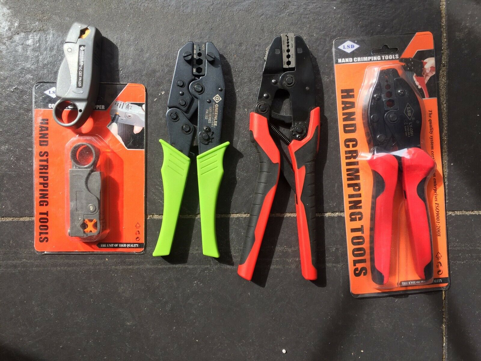 Crimping Tools and Hand Stripping Tools