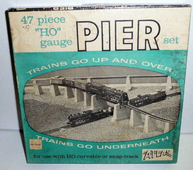-YOUR CHOICE Vintage ATLAS HO Gauge Pier Set HO Accessories