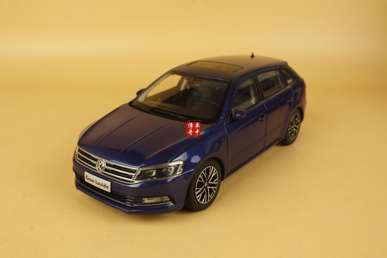 1 18 2015 Volkswagen new Gran Lavida diecast Model blu Coloreee
