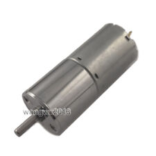 1x Dc12v 24v 25ga370 Large Torque Speed Reduction Gear Motor With Metal Gearbox