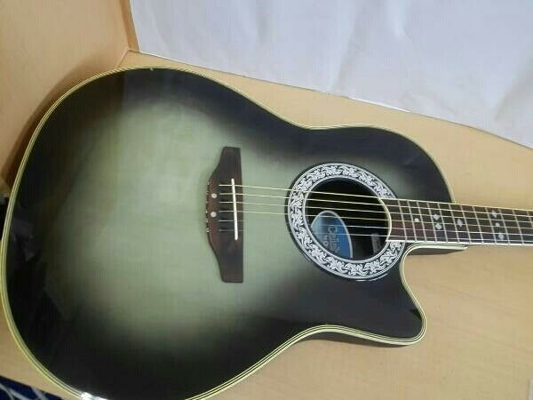 Ovation Acoustic-crown CC 157 rare beutiful JAPAN EMS F S