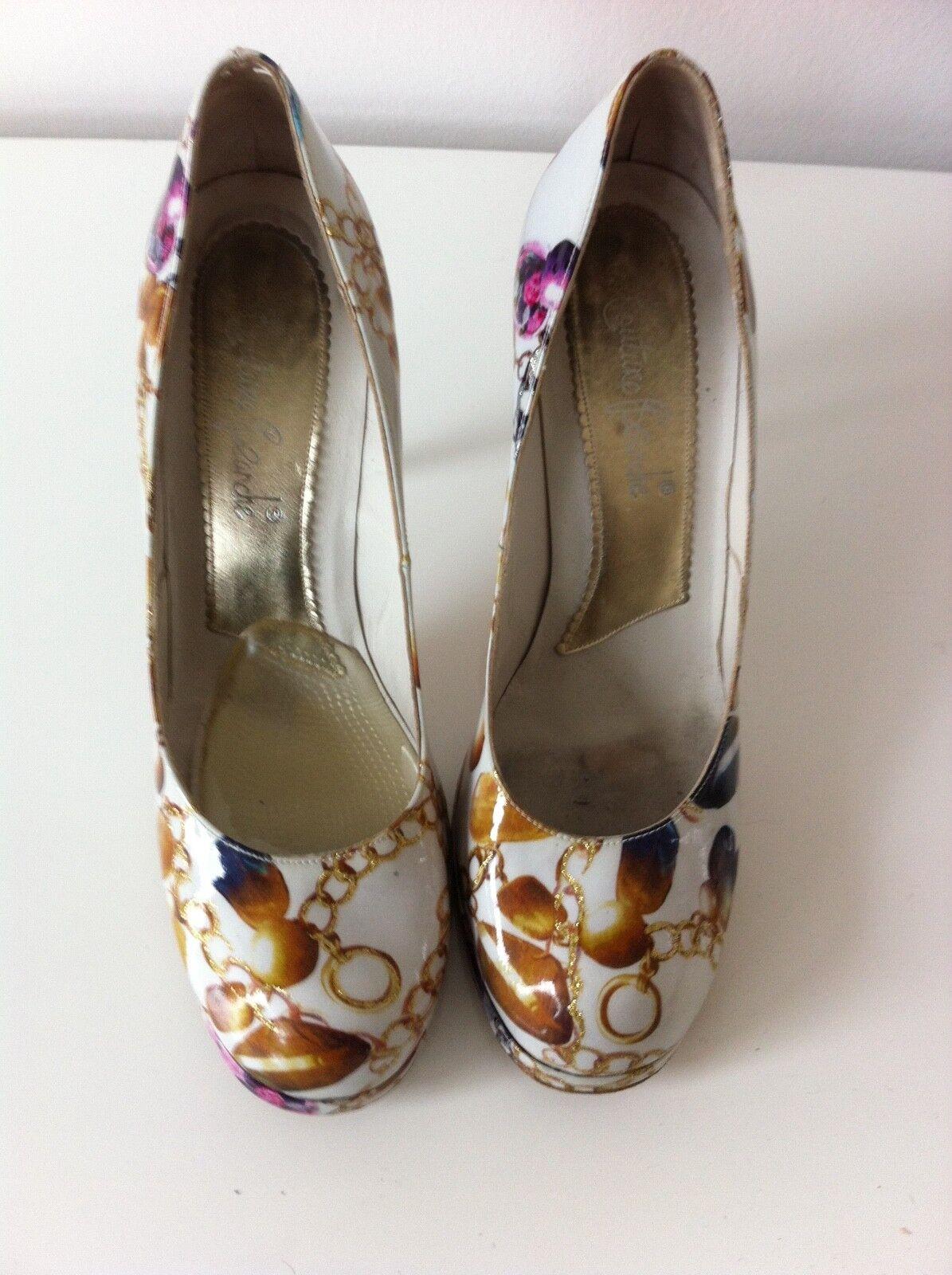 Damen high heels + clutch   Couture Beanche     Ledersohle Gr. 40   zus. 50 Euro ed7de6