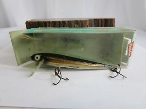 NOS KING COBRA MINNOW VINTAGE HEDDON ORIGINAL fishing lure box